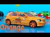 colorful cars.. new colors are added!!! red,yellow,blue,green,orange,pink,white,black,brown,purple