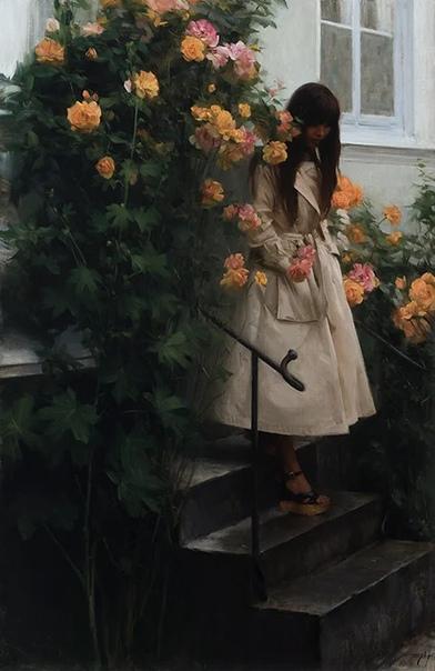 Флорентийский художник взял лучшее от итальянской живописной традиции и привнес в нее скандинавскую сдержанность от своей новой родины в Швеции Художник Ник Алм не слишком известен в нашей