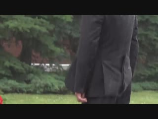 Putins extraordinary alpha male walk