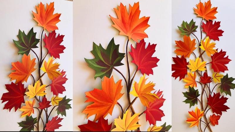 DIY Home Decor / DIY Fall Seasonal Decor /Wall Decoration Ideas at Home