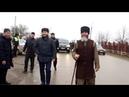 Муфтий ЧР Салах-Хаджи Межиев посетил центральную мечеть села Правобережное для совершения джума.