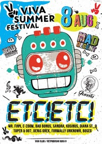 08.08 * VIVA SUMMER FESTIVAL * ETC! ETC! (USA)