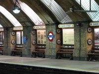 Лондон - Схема Лондонского метро.