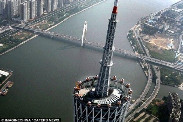 Колесо обозрения в Китае