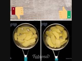 Секреты приготовления идеального картофельного пюре.