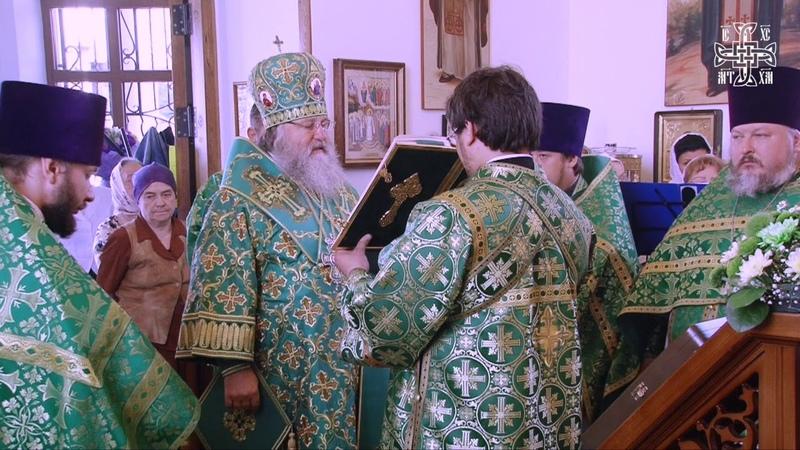 Божественная литургия в Храме праведного Артемия Веркольского - 06.07.18г.