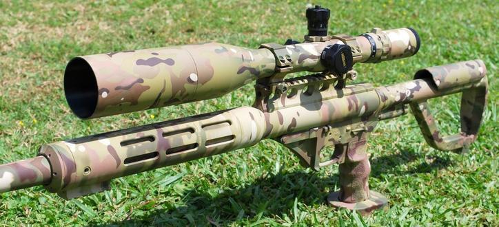 Камуфляж на стрелковом оружии