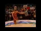Trish Stratus Vs Stacy Kiebler - Gravy Bowl Match! - WWF/WWE 2001