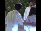 Shah Rukh Khan and Gauri Khan at Ambani's Ganesh Chaturthi celebration