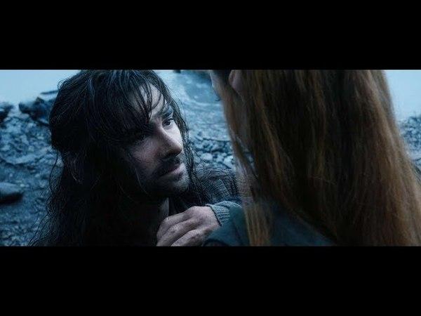 「AMV」The Hobbit (Kili and Tauriel) - Камень на сердце
