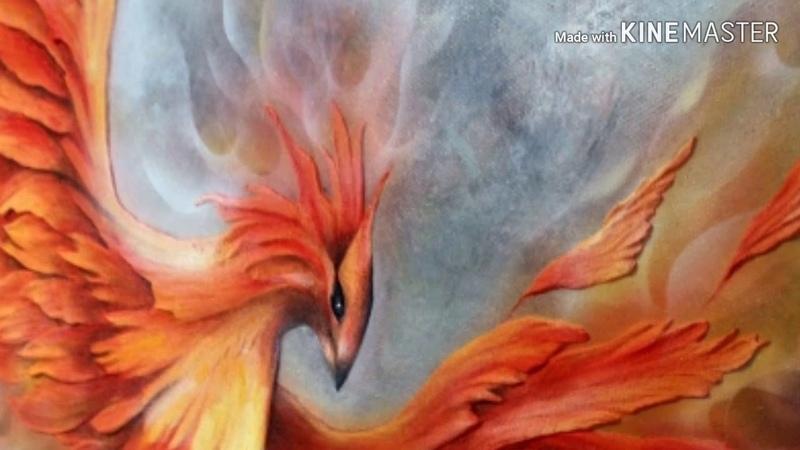Феникс .Огненный портал духов солнца и огня