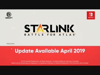 Starlink: Battle for Atlas - Трейлер обновления - Nintendo Direct