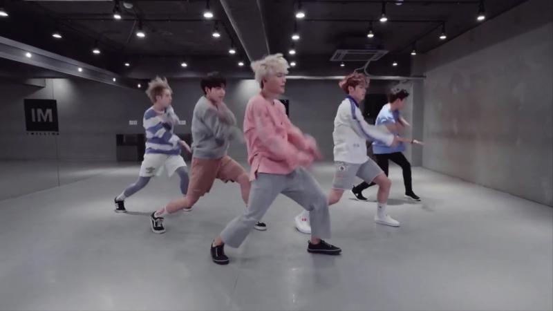 [Mirrored] [A.C.E(에이스)] - 선인장(CACTUS) 안무 연습 영상