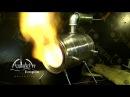 Самодельный газовый горн DIY Gas forge