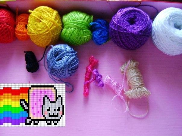 схем нет, схема Nyan Cat-а