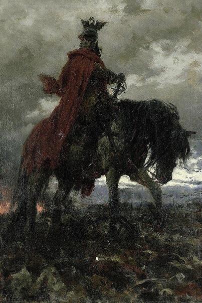 Картина «Смерть на поле боя», 1869
