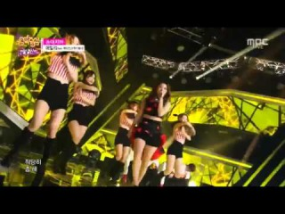 141227 Ailee (Feat. J-Kyun of Lucky J) - Don't Touch Me (손대지마) @ Music Core Year-End Special