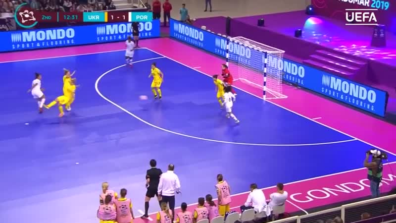 UEFA Womens Futsal EURO Украина - Португалия