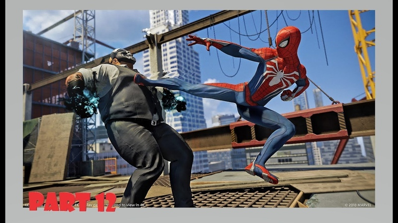 Marvel's Spider-Man Official Only PS4 Walkthrough Part 12 1080p