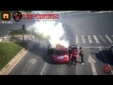 Фейерверк в машине/fireworks in the car