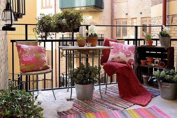Квартира с весенним настроением в Швеции