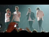 Twitter Questions, the boys singing I Want It That Way - One Direction in Stockholm May 8th