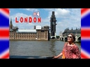 LONDON4: спальный район, Лондонская надземка, колесо обозрения London Eye, Биг-Бэн на ремонте(!