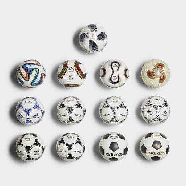 Футбольные мини-мячи FIFA World Cup Historical
