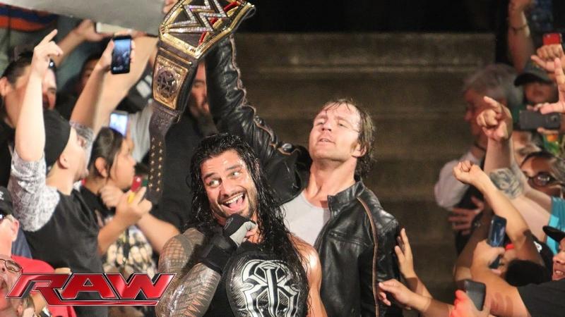 Roman Reigns vs Bray Wyatt (01.06.2015)