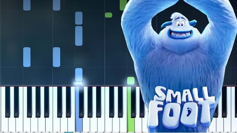 Niall Horan - Finally Free Smallfoot movie Piano Tutorial - Chords - How To Play - Cover