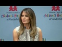 Melania Trump visits Monroe Carell Jr. Children's Hospital at Vanderbilt.