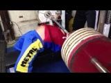 Strongyas Bench Press 270kg @80kg ベンチプレス