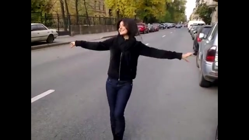 V Тимуров Ой Моя голубка Девушка классно танцует