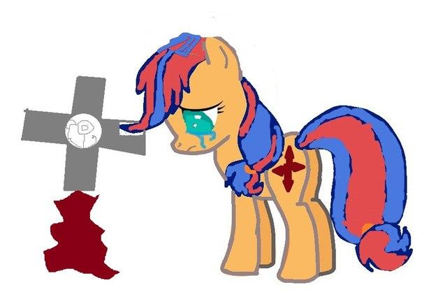 Как пони ведёт себя во время смерти