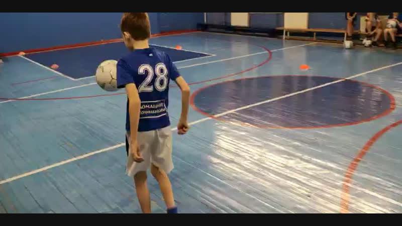 Жонглирование в движении 289 раз ⚽️⚽️⚽️
