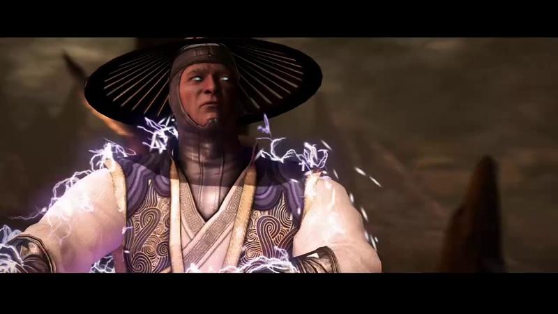 Mortal Kombat X Рейден vs Саб Зиро