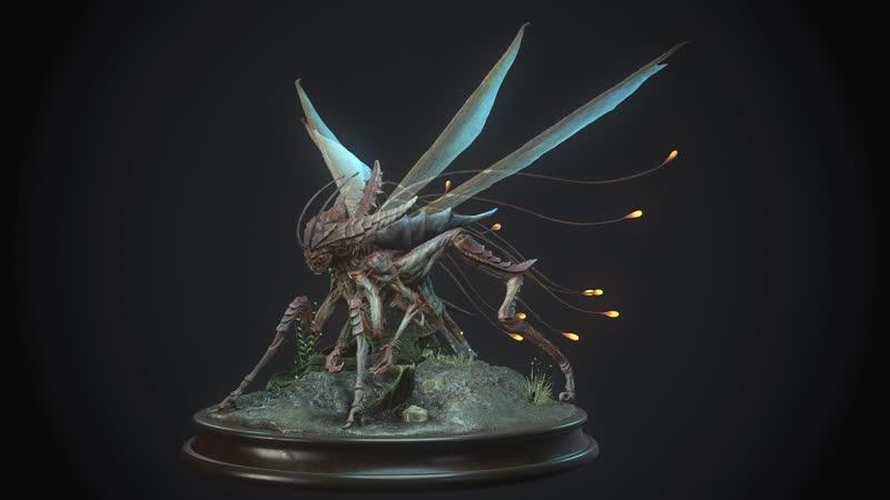 Насекомое монстр / Insect monster