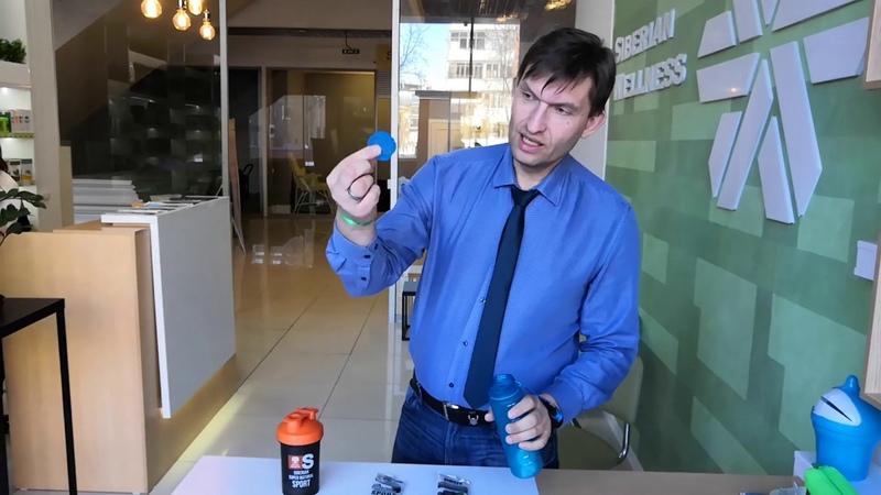 БизнесСватТВ Инновационный шейкер perm wellnesshop Siberian Wellness