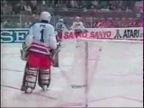 Чемпионат мира по хоккею 1990, Швейцария, групповой этап, СССР-США, 10-1, 1 место, Мыльников Сергей