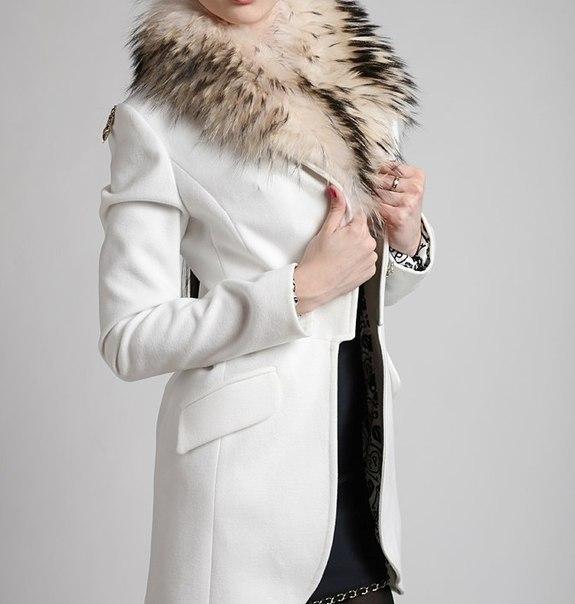 Пальто филипп плейн с мехом тканевые плащи женские