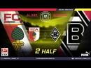 Amateur league КБР 2018| Бундеслига. 20 тур. Аугсбург - Боруссия М . 2 тайм.