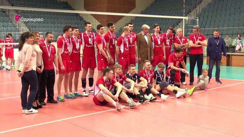 Одинцовская Искра снова в деле. Мужская волейбольная команда вернула своё историческое название и перешла в Высшую лигу А