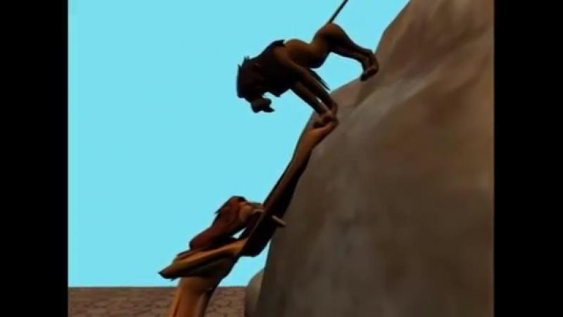Улучшенная версия нашумевшего мультфильма Король Лев где используют самые современные технологии анимации