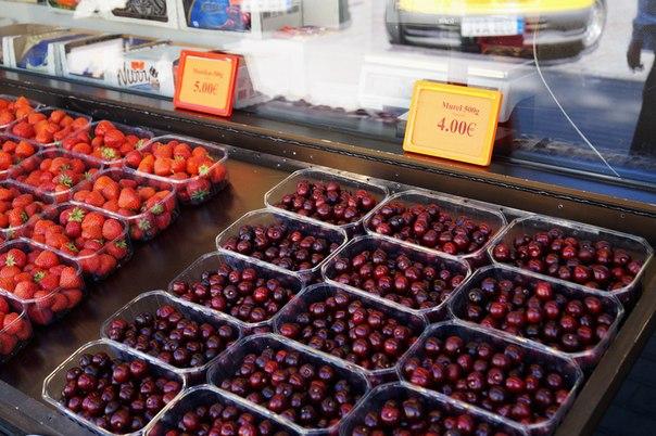 Цены на фрукты в Таллине