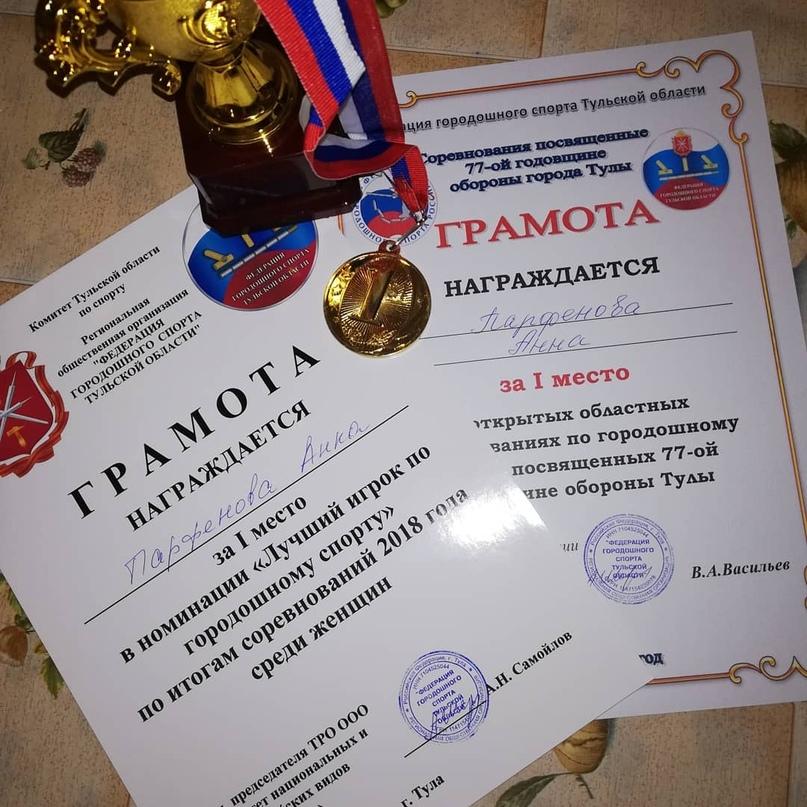 Анна Парфенова   Тула