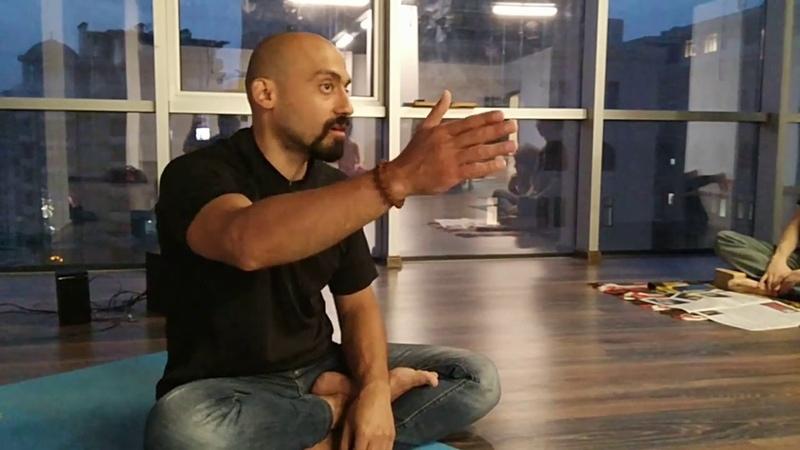 15 08 2018 Yoga Shahi Беседа о питании и йоги с Анаром 1