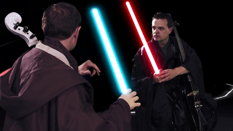 Cello Wars (Star Wars Parody) Lightsaber Duel - Steven Sharp Nelson.720