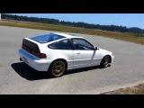 RWD GSR Turbo Honda CRX dougnut