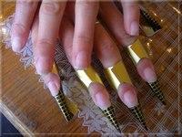 Предложение от компании Салон красоты Роскошь: Наращивание ногтей на формах по цене 1800.0 руб в РОССИИ.