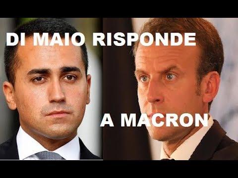 """""""IPOCRITA!"""" DALLA FRANCIA PARTE LATTACCO.DI MAIO CI DIFENDE!"""
